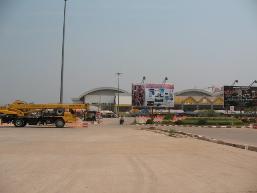 New shopping malls construction in Laos